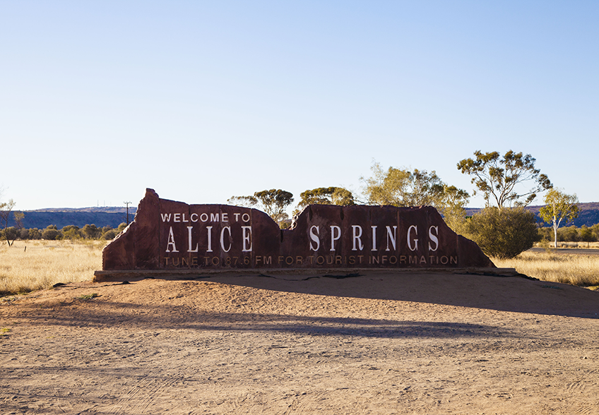 Road Trip Australie Alice Springs