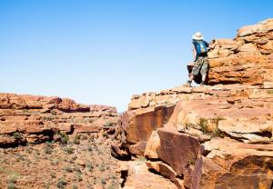 Kings Canyon Road Trip Australie