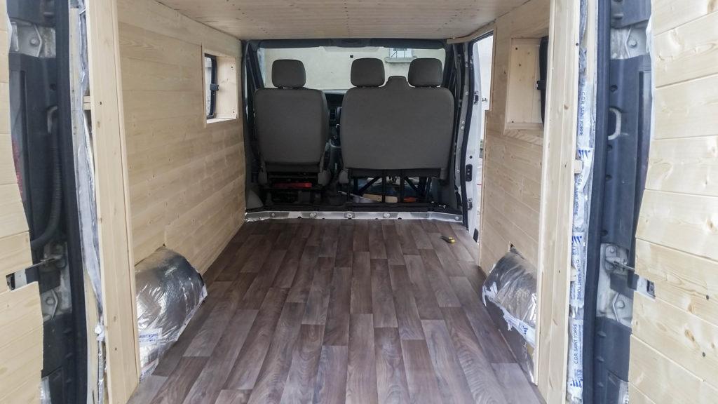 Turbo Aménager son fourgon #2 - Le Van Migrateur EQ35