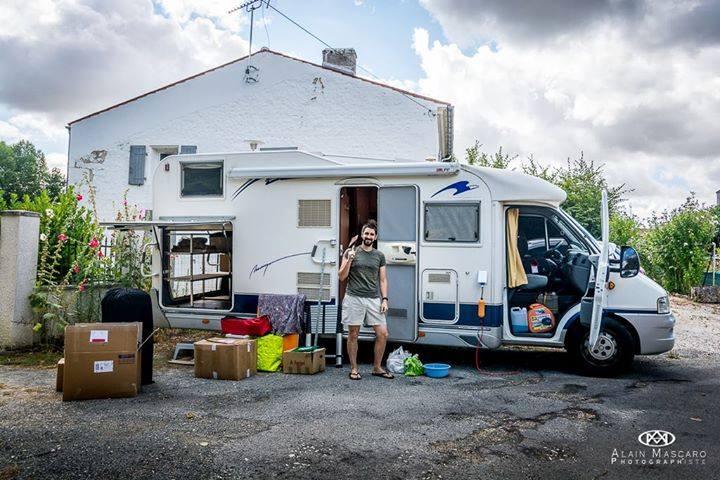 Camping car aménagé