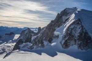 Un weekend à Chamonix le van migrateur
