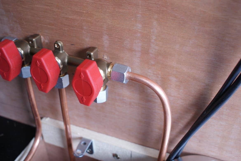 Installation gaz en fourgon