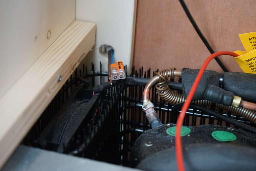 Arrière frigo fourgon