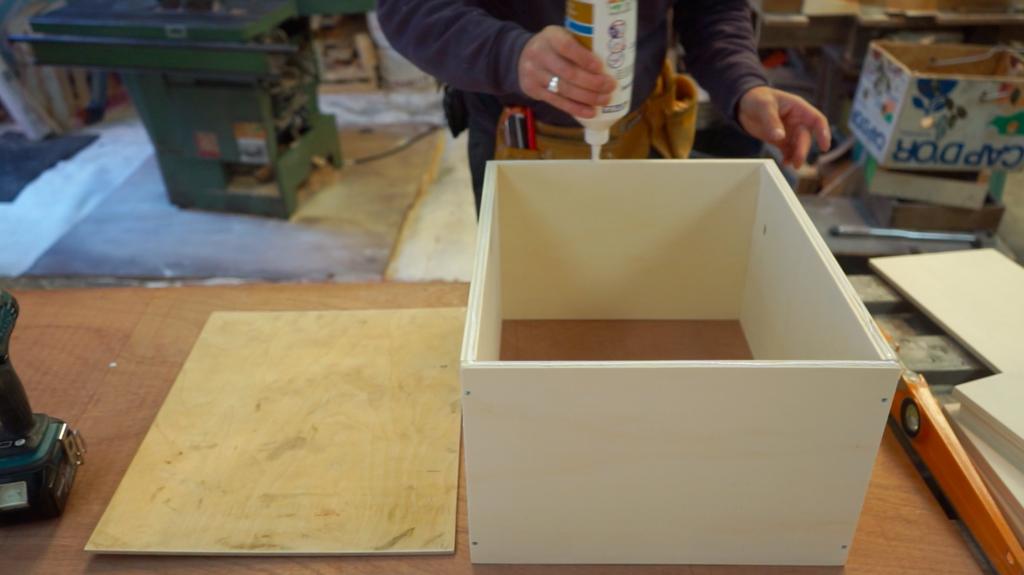 Etapes de construction tiroir fourgon
