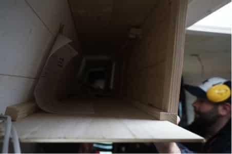 Fixation meuble haut