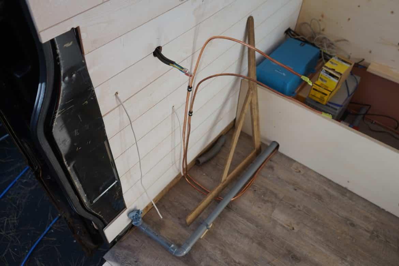 Installation de gaz certifiée fourgon aménagé