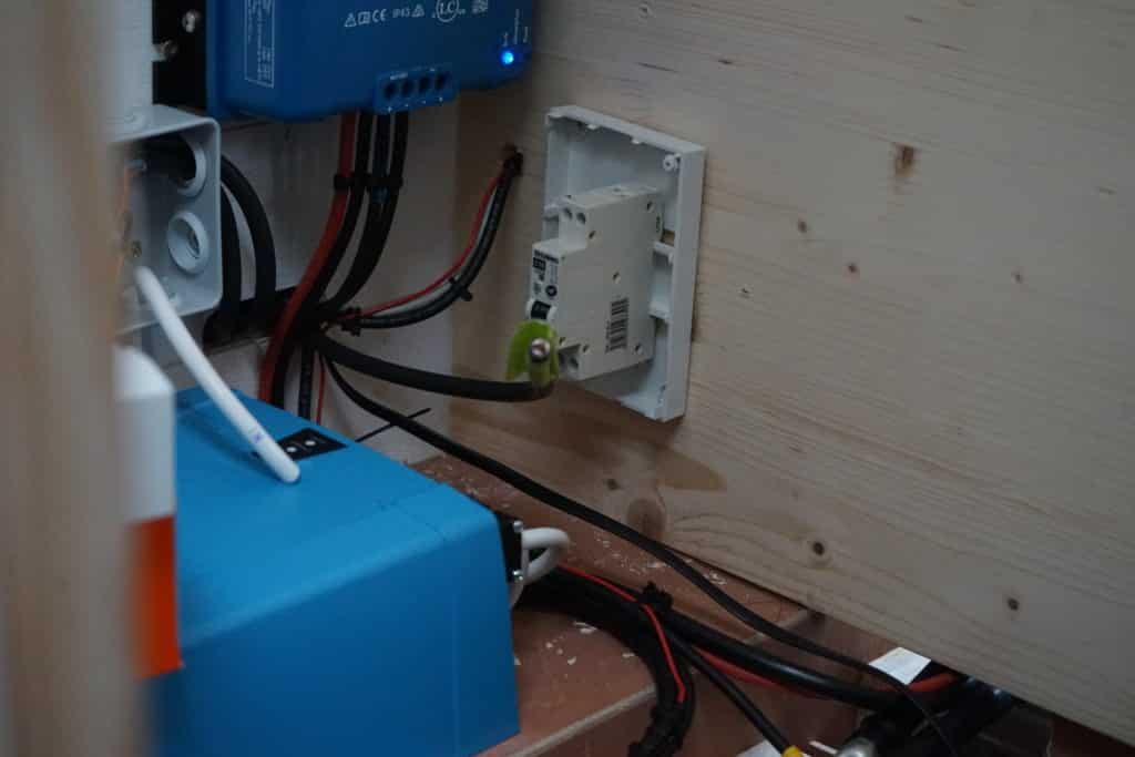 L'installation électrique de notre fourgon