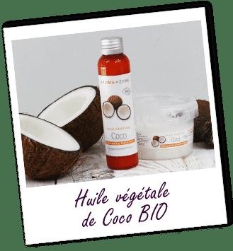 Huile végétale de coco