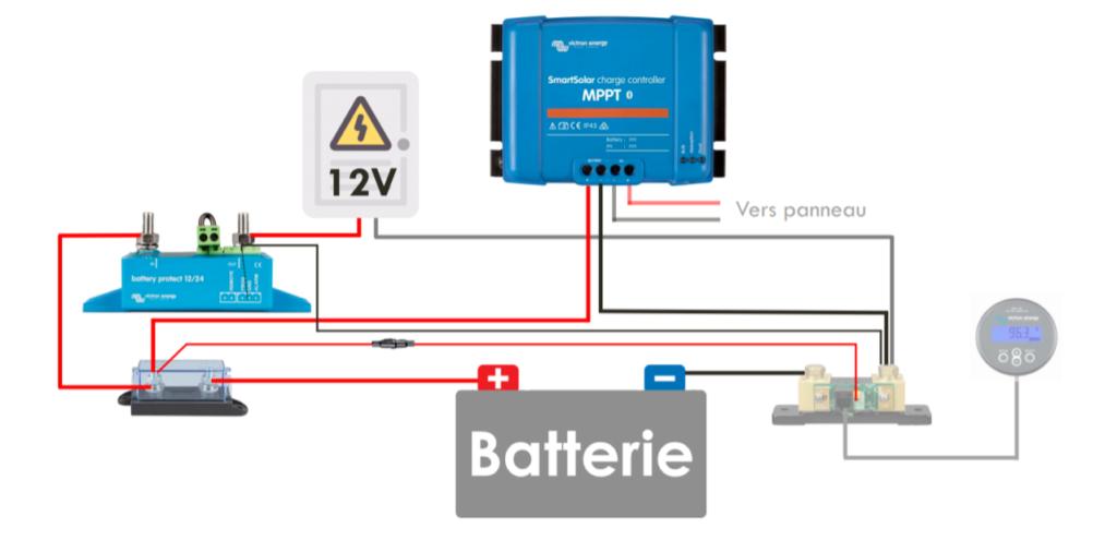 Schéma battery protect avec BMV